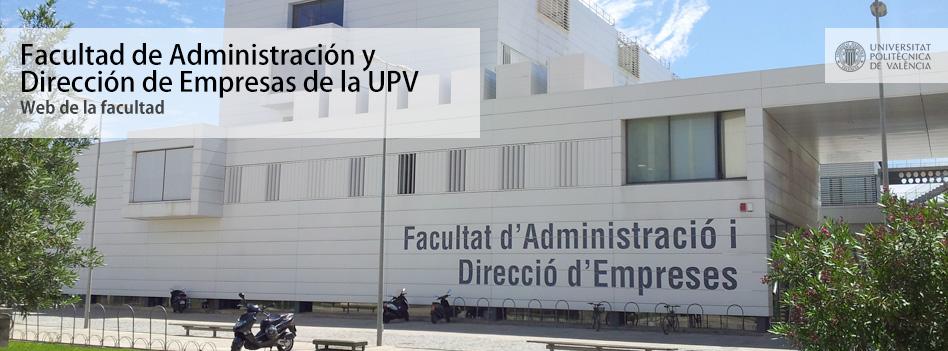 Facultad de ADE de la UPV